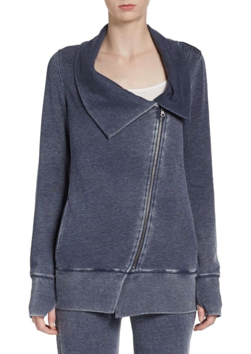 MARC NEW YORK by ANDREW MARC Performance Asymmetrical Zip-Front Sweatshirt