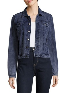MARC NEW YORK by ANDREW MARC Performance Button-Down Denim Jacket