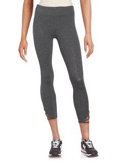 MARC NEW YORK by ANDREW MARC Performance Cotton Blend Crop Leggings