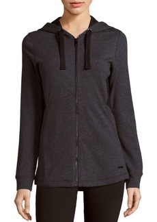 MARC NEW YORK by ANDREW MARC Performance Long Sleeve Hooded Jacket