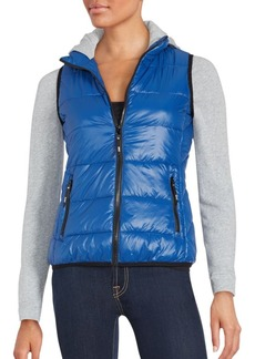 MARC NEW YORK by ANDREW MARC Performance Long Sleeve Hooded Puffer Jacket