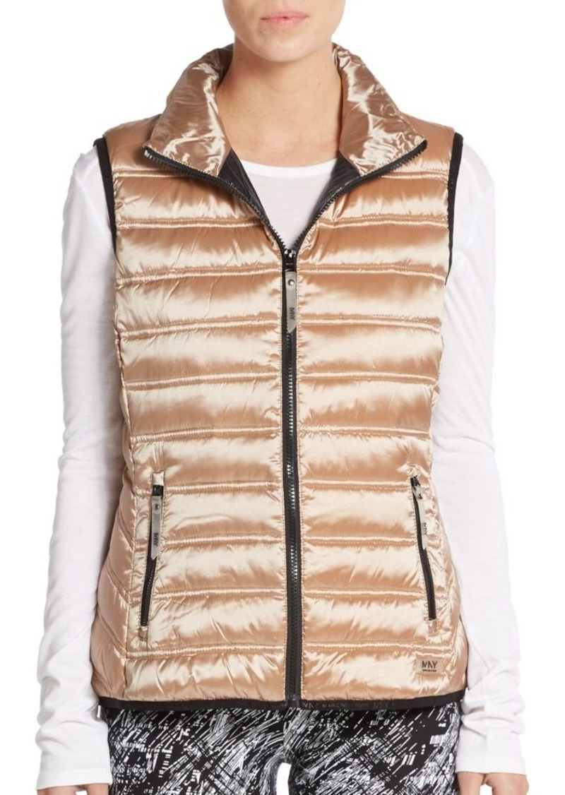 MARC NEW YORK by ANDREW MARC Performance Metallic Down-Fill Puffer Vest