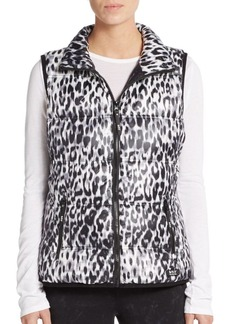 MARC NEW YORK by ANDREW MARC Performance Ombré Splatter Puffer Vest