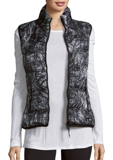 MARC NEW YORK by ANDREW MARC Performance Printed Vest