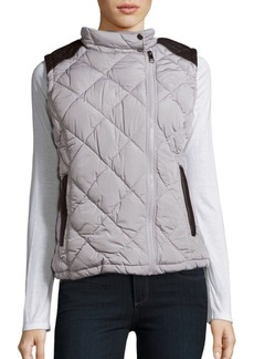 MARC NEW YORK by ANDREW MARC Performance Sleeveless Quilted Vest