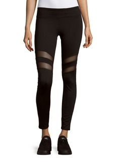 MARC NEW YORK by ANDREW MARC Performance Solid Cutout Leggings
