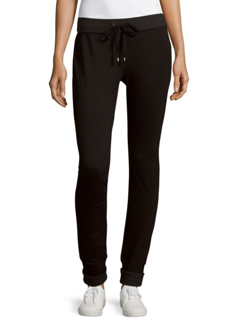 MARC NEW YORK by ANDREW MARC Performance Solid Track Pants