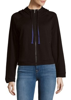 MARC NEW YORK by ANDREW MARC Performance Zippered Drawstring Hoodie