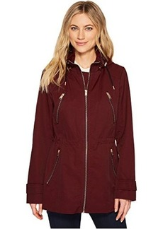 "Marc New York by Andrew Marc Tanner 30"" Tech Rain Jacket"