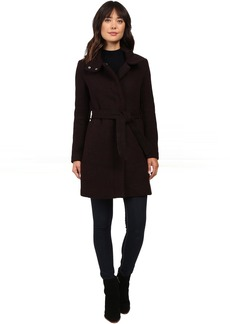 "Tristina 35"" Brushed Twill Trench Coat"