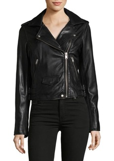 MARC NEW YORK by ANDREW MARC Wesley Leather Motor Jacket