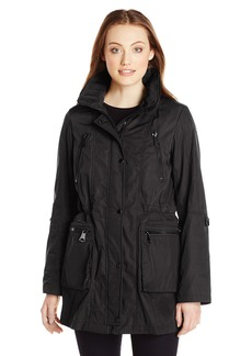Marc New York by Andrew Marc Women's Anorak with Mesh ining  arge