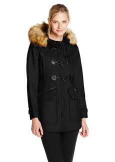 Marc New York by Andrew Marc Women's Cara Wool Toggle Coat