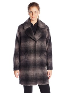 Marc New York by Andrew Marc Women's Emma Brushed Wool  Coat