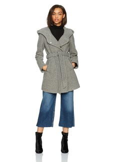 Marc New York by Andrew Marc Women's Flair Fealted Wool Jacket