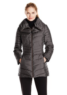 Marc New York by Andrew Marc Women's Kirby Short Chevron Down Coat
