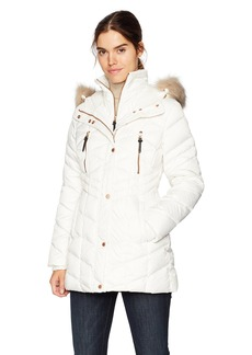 Marc New York by Andrew Marc Women's Marley Matte Down Jacket  Extra Small