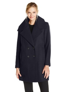 Marc New York by Andrew Marc Women's Natalie Double Breasted Wool Coat