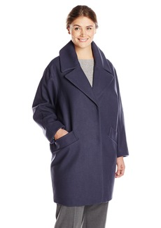 Marc New York by Andrew Marc Women's Plus-Size Wendy Wool Coat