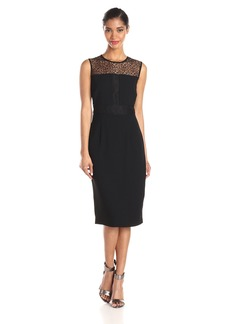 Marc New York by Andrew Marc Women's Sleeveless Lace Dress