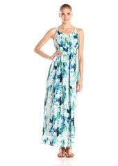 Marc New York by Andrew Marc Women's Sleeveless Monet Floral Maxi Dress