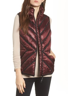 Marc New York Chevron Quilt Puffer Vest