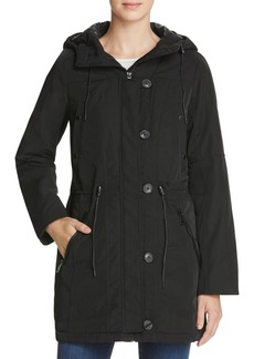 Marc New York Chrissy Luxe Rain Jacket