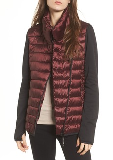 Marc New York Knit Sleeve Packable Puffer Jacket