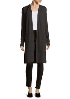 Marc New York Knitted Hooded Duster