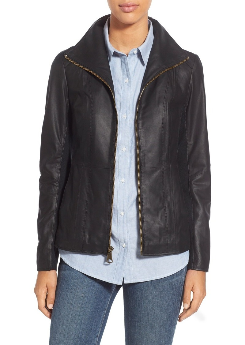 Andrew Marc Marc New York Lambskin Leather Jacket (Online Only)