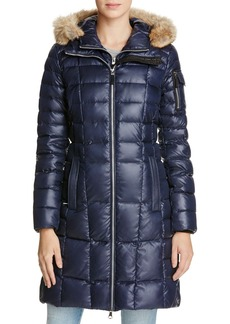 Marc New York Lexi Fur Trim Puffer Coat