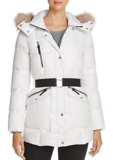 Andrew Marc Marc New York Lucy Faux Fur Trim Puffer Jacket