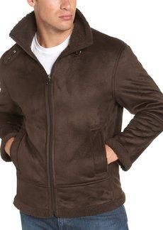 Andrew Marc Marc New York Men's Faux Shearling Aviator Jacket