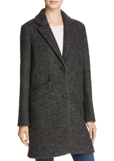 Marc New York Paige Pressed Boucl� Car Coat