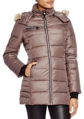 Andrew Marc Marc New York Paris Fur Trim Puffer Coat