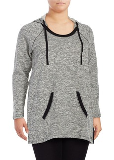 Andrew Marc MARC NEW YORK PERFORMANCE Heathered Knit Hoodie