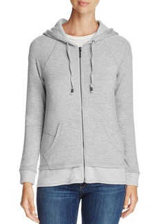 Marc New York Performance Layered-Look Zip Hoodie