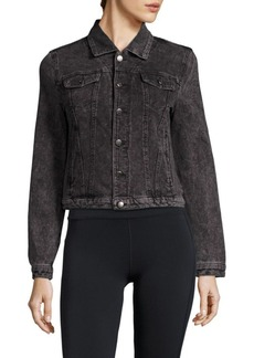 Andrew Marc Marc New York Performance Long-Sleeve Cropped Jacket