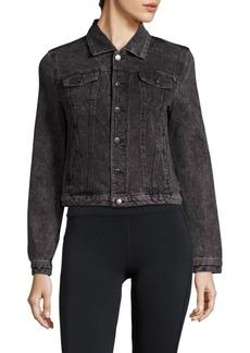 Marc New York Performance Long-Sleeve Cropped Jacket