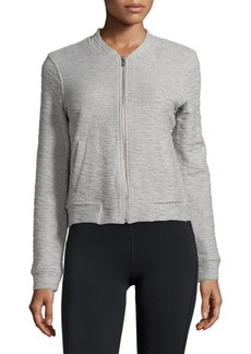 Andrew Marc Marc New York Performance Long-Sleeve Textured Cotton Jacket