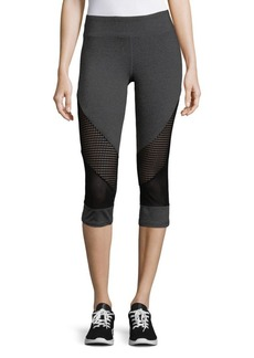Marc New York Performance Mesh Paneled Leggings