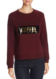 Marc New York Performance Moving Sequins Graphic Sweatshirt