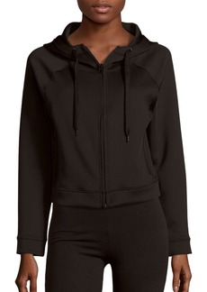 Andrew Marc Marc New York Performance Hooded Cropped Jacket