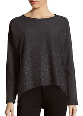 MARC NEW YORK by ANDREW MARC Performance Knitted Long Sleeve Top