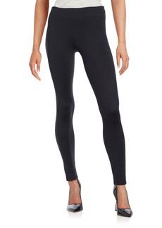 MARC NEW YORK PERFORMANCE, Plus Size Solid Beaded Leggings