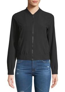 Marc New York Stand Collar Zip Bomber Jacket