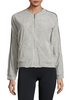 Marc New York Performance Striped Terry Bomber Jacket