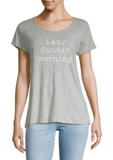 Marc New York Sunday Morning Short-Sleeve Tee