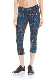 Marc New York Performance Women's All Over Print Nylon Span Crop Legging