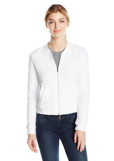 Marc New York Performance Women's Boucle Bomber Jacket  L